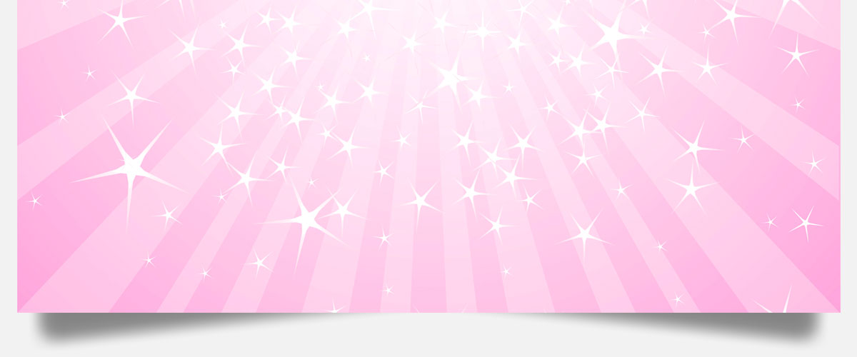 Pink and starry background