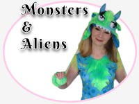 monster and alien party