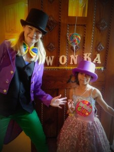Charlie and the Chocolate Factory themed party at Spellbound Parties