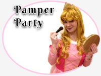 pamper theme party